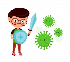 Enfant coronavirus