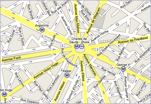 Parmi les noms de avenues qui mènent à la Place Charles De Gaulle - Etoile figurent Hoche, Marceau, Kléber, Victor Hugo, Foch, Mac-Mahon et Carnot. Le HCE regrette que nous n'ayons ici que des hommes. Il devrait plutôt regretter que nos armées ne comptent aucune femme parmi ses généraux.